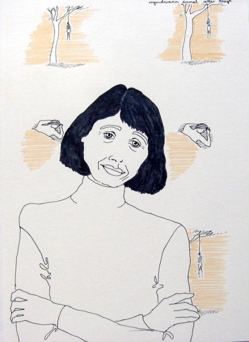 To be worshipped: Gisela Capitain, 2005