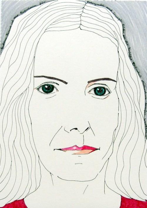To be worshipped: Gudrun Kemsa, 2009