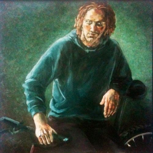 Michael U, ca 110 x 110, Öl/Leinwand