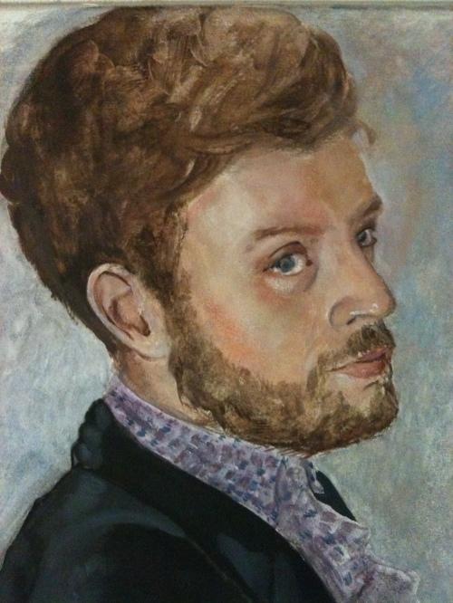 Portrait Belinda - Zwischenzustand