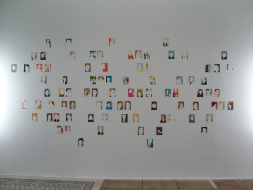 """""""My Ancestors"""", 2008, Gallery AREA 53, Wien"""